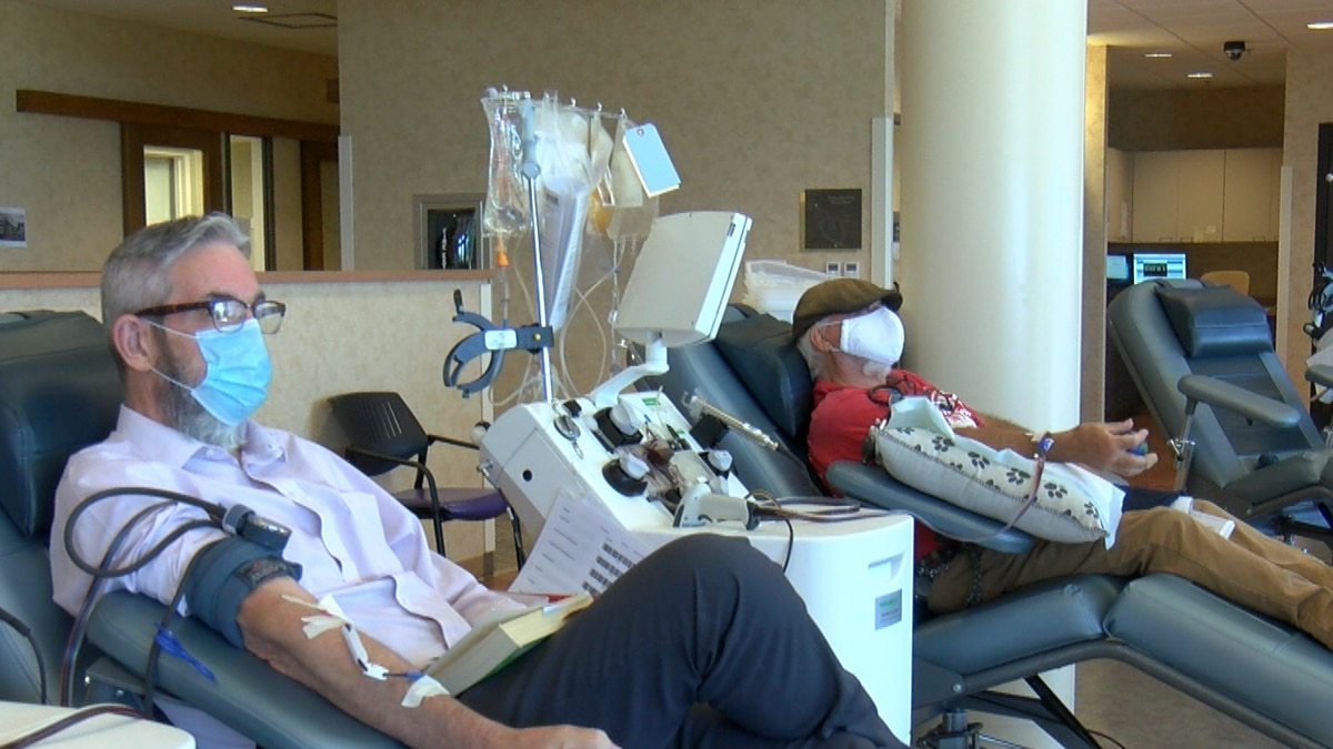 Coffee Memorial Blood Center says one donation could save up to three lives.