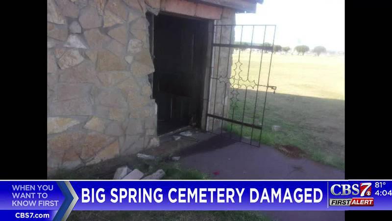 Big Spring chapel vandalized