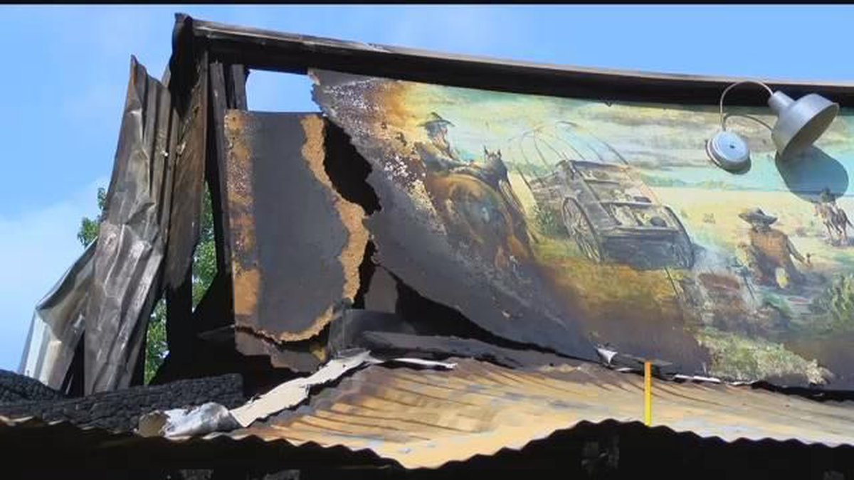 Outlaw Bar-B-Q fire destroys restaurant, puts 14 people out of work